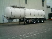 Bitumen Tanksattelauflieger