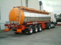 Edelstahl Tanksattelauflieger einzellig und mehrzellig